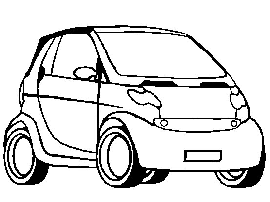 Exclusive Cars Colouring Book