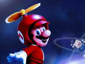 Oyunlar1 Mario Lost in Space Oyunu
